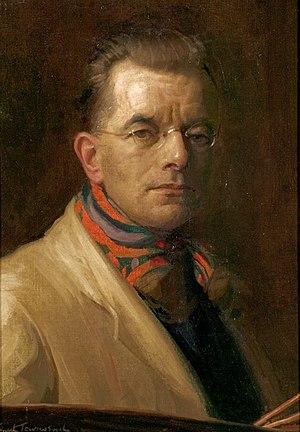 Ernest Townsend - Self Portrait Ernest Townsend