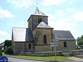 Semuy (Ardennes, Fr), the church.JPG