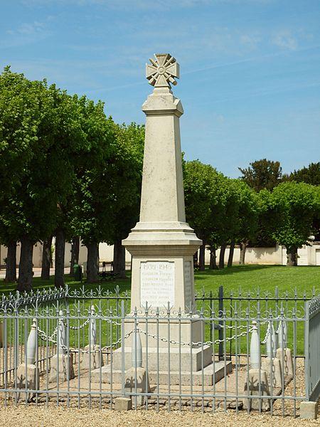 Monument aux morts de Serbonnes (Yonne, France)