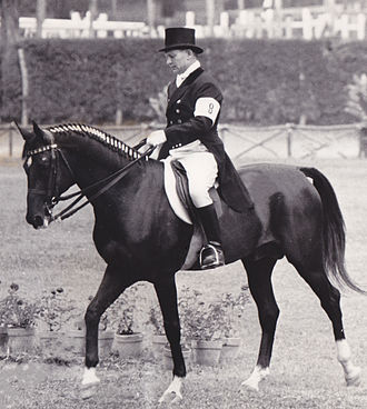 Equestrian at the 1960 Summer Olympics - Sergei Filatov won gold on Absent  at the individual dressage