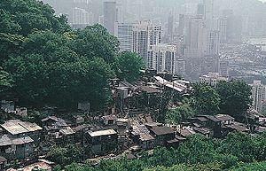 Tai Hang - Tai Hang in the 1980s.