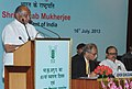 Sharad Pawar addressing at the 85th Foundation Day Lecture of ICAR, in New Delhi. The Minister of State for Agriculture & Food Processing Industries, Shri Tariq Anwar and the Agriculture Secretary.jpg