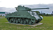 Sherman m4a2e8 cfb borden 4