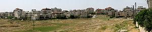 Shuafat - Shuafat seen from the south