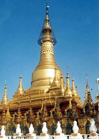 Pyay - Shwesandaw Pagoda in Pyay