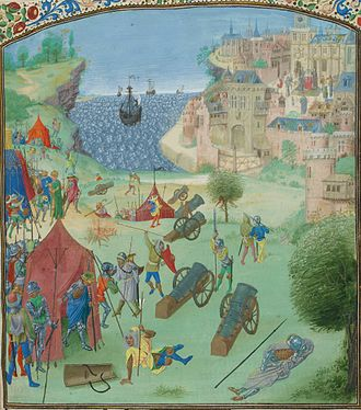 Lisbon - The 1384 Siege of Lisbon in Froissart's Chronicles.