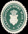 Siegelmarke 11. Königlich Sächsisches Infanterie - Regiment No. 139. 1. Batallion W0246940.jpg