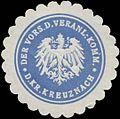 Siegelmarke Der Vorsitzende der Veranlagungs-Kommission des Kreises Kreuznach W0381905.jpg