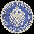 Siegelmarke K. Marine Kommando der Schulhalbflottille W0357574.jpg