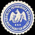 Siegelmarke K. Pr. Gericht der Haupt - Kadetten - Anstalt W0238200.jpg