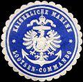 Siegelmarke Kaiserliche Marine - Lootsen - Commando W0224092.jpg