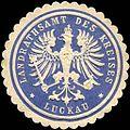 Siegelmarke Landrathsamt des Kreises - Luckau-Lausitz W0224306.jpg