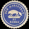Siegelmarke Magistrat zu Bibra W0302085.jpg