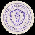 Siegelmarke Magistrat zu Neubruchhaussen - Kreis Syke W0229344.jpg