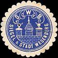 Siegelmarke Siegel der Stadt Wesenberg W0211754.jpg