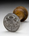 Sigillstamp Karl XIII - Livrustkammaren - 33889.tif