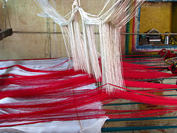 Silk Sari Weaving at Kanchipuram, Tamil Nadu.jpg