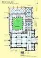 Silvacane, Grundriss Klausur, Erdgeschoss, Handskizze,1.jpg