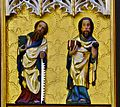 Simon & James the Greater apostles, ~1420, basilica, Dobre Miasto, Poland.jpg