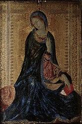 Simone Martini: Madonna from the Annunciation Scene
