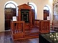 Sinagoga Kahal zur Israel, arca 02.JPG