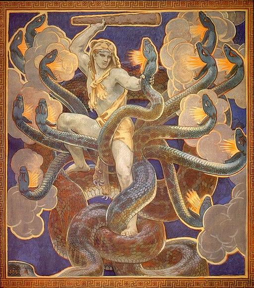 Singer Sargent, John - Hercules - 1921
