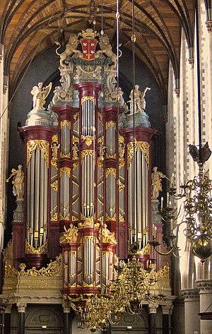 Christian Müller (organ builder) - The organ in the Grote Kerk, Haarlem (1735-38).