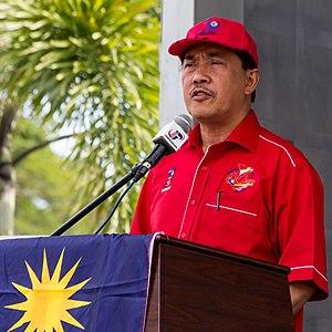 Sapawi Ahmad - Image: Sipitang Sabah Sapawi Ahmad during Fly Jalur gemilang Campaign 2013 01