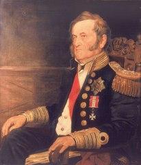 Sir Fairfax Moresby, c. 1786-1877, Admiral of the Fleet