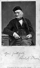 Sir Richard Owen. Photograph by Lock & Whitfield. Wellcome L0014089.jpg