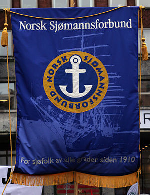 Norwegian Seafarers' Union - Banner