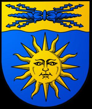 Skellefteå - Image: Skelleftea kommun vapen farg
