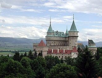 Bojnice Castle - Image: Slovakia Bojnice Castle 2004 hires
