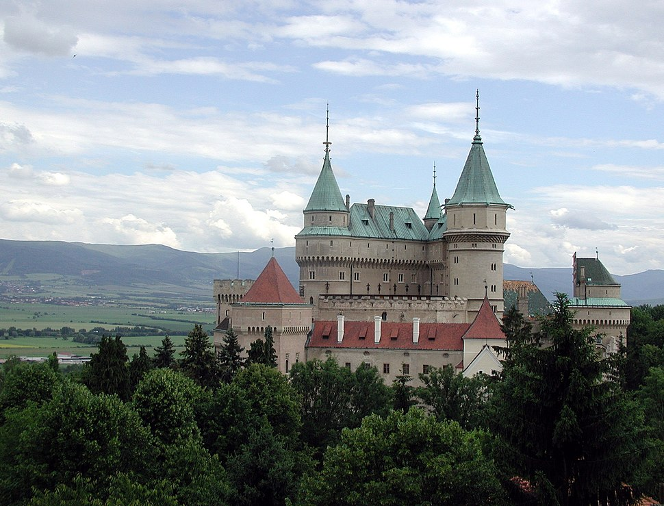 Slovakia Bojnice Castle 2004 hires