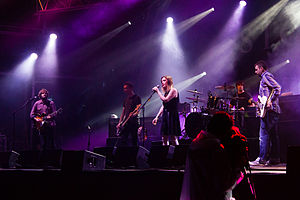 Slowdive - Slowdive performing at Primavera Sound 2014