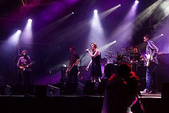Slowdive - Slowdive performing at Primavera Sound 2014