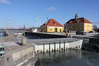 Slusen, Copenhagen - Slusen in the South Harbour of Copenhagen