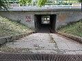 Small tunnel under Highway 1, 2017 Tatabánya.jpg