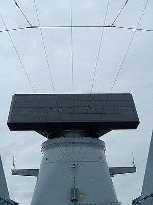 SMART-L - SMART-L onboard F221 Hessen a Sachsen class frigate