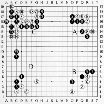 Smith (1908) The Game of Go Plate 22.png
