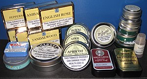 Snuff (tobacco) - Assorted tins of nasal snuff tobacco