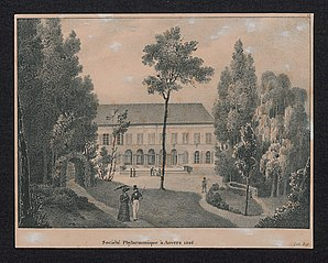 Société Phylarmonique à Anvers 1826