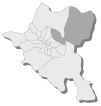 Location of Kremikovtsi in Sofia