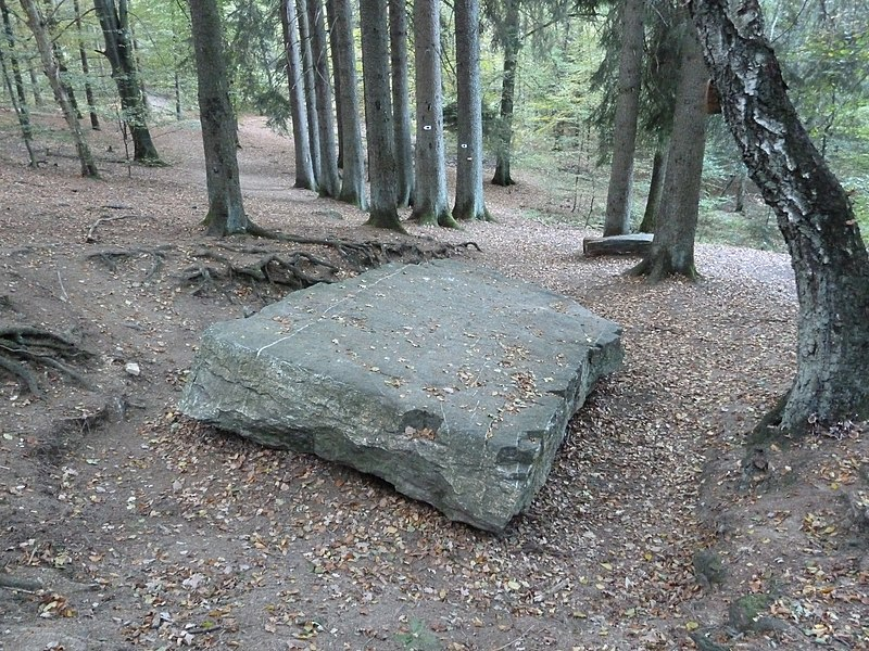 Dolmen of Solwaster, Solwaster, Liege, Belgium