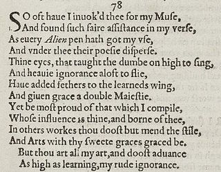 Sonnet 78 poem by William Shakespeare