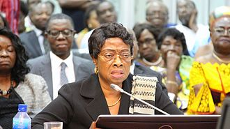 Sophia Akuffo - Sophia Akuffo undergoing vetting for role of Chief Justice