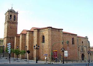 Co-Cathedral of San Pedro, Soria - Image: Soria Concatedral San Pedro 01