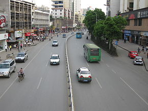 South Guoqing Road Chenzhou.JPG
