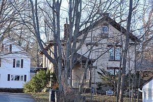 George H. Hartwell House - Image: Southbridge MA George H Hartwell House