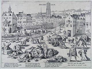 Spanish Fury at Mechelen